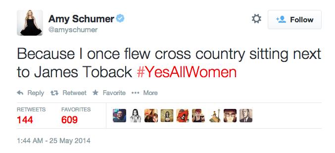 #YesAllWomen Amy