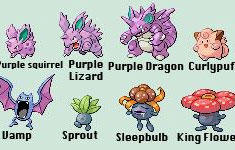 Misnamed Pokemon