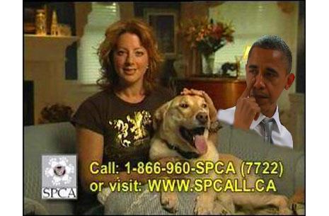 Obama ASPCA Commercial