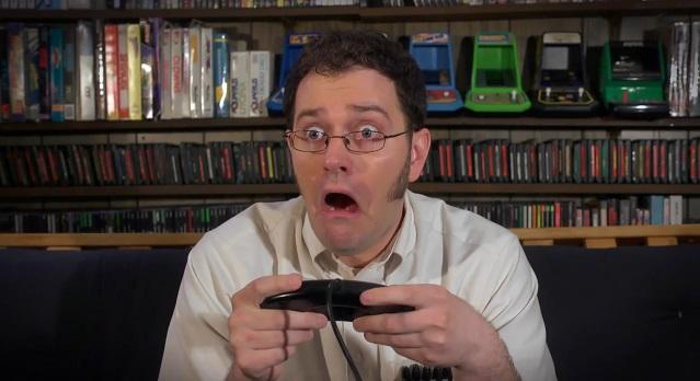 Your face when you play a horrible game the angry video game nerd
