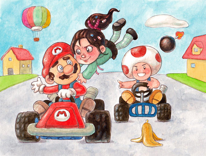 Wreck It Ralph Kart
