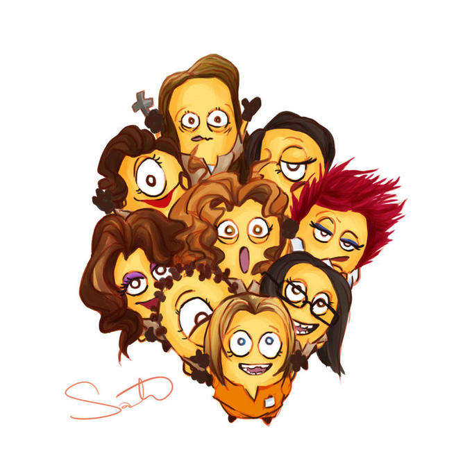 Orange is the New Black Minions