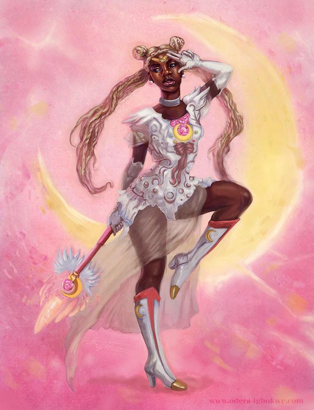 African American Sailor Moon