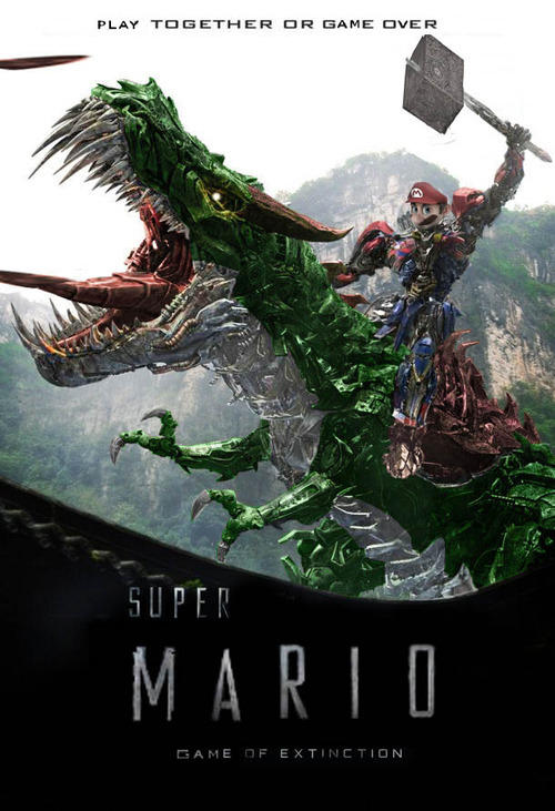 Super Mario Game of Extinction