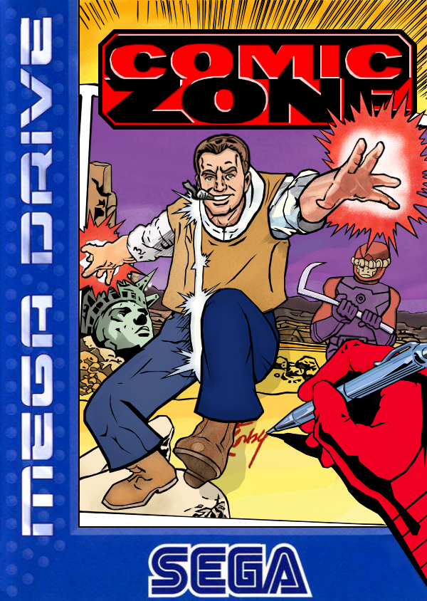 Comic Zone : Starring Jack Kirby