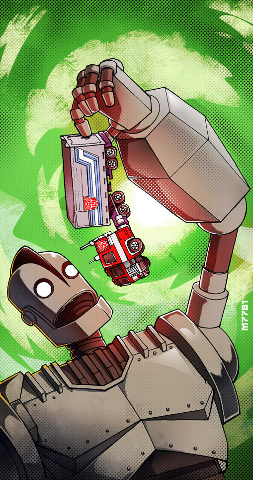 iron giant vs optimus prime by m7781   Transformers   Know ...
