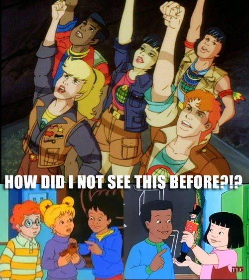 Magic School Bus Captain Planet