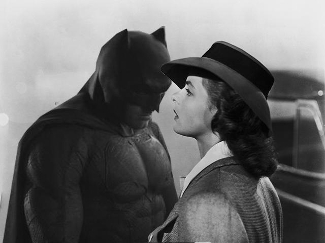 Sad Batman - Casablanca Style