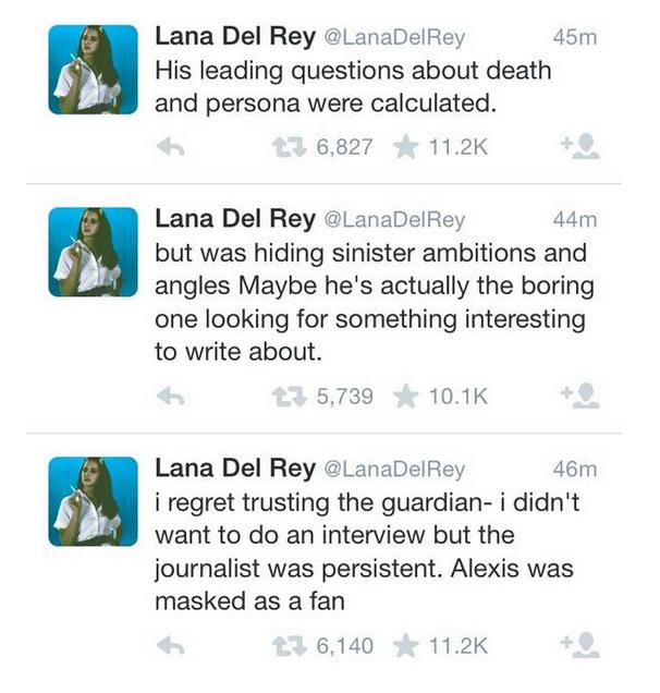Del Ray Tweets