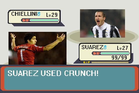 Suarez Used Crunch!
