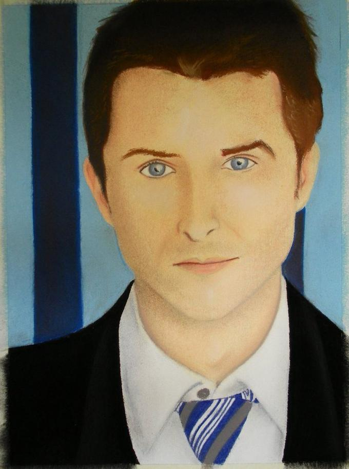 Chris Hardwick painting
