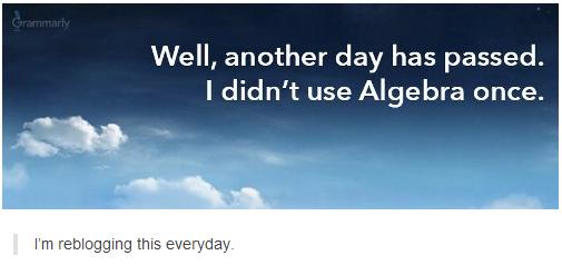 The Problems of Algebra
