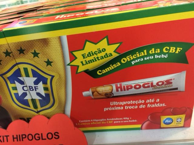Buttock Cream Sponsors Brazilian Football