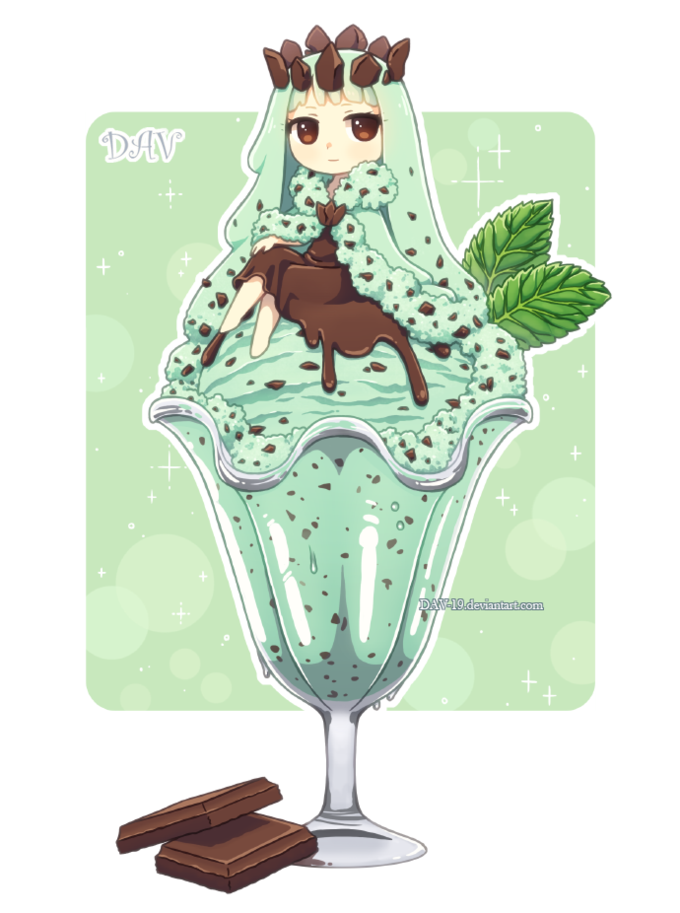 Mint Choclolate Chip Ice Cream