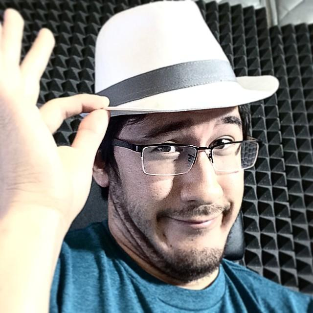 Markiplier Tips His Fedora
