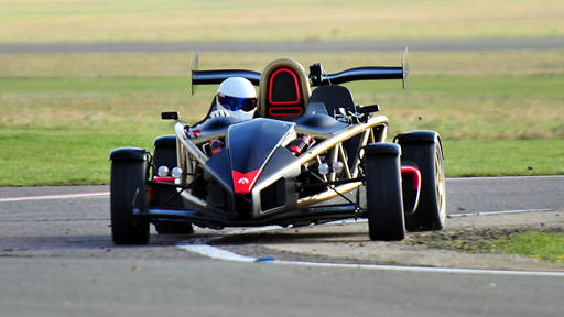 The Stig driving the Ariel Atom V8 Supercharged