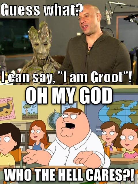 """Guess What I Know: Guess What? I Can Say """"I Am Groot""""!"""
