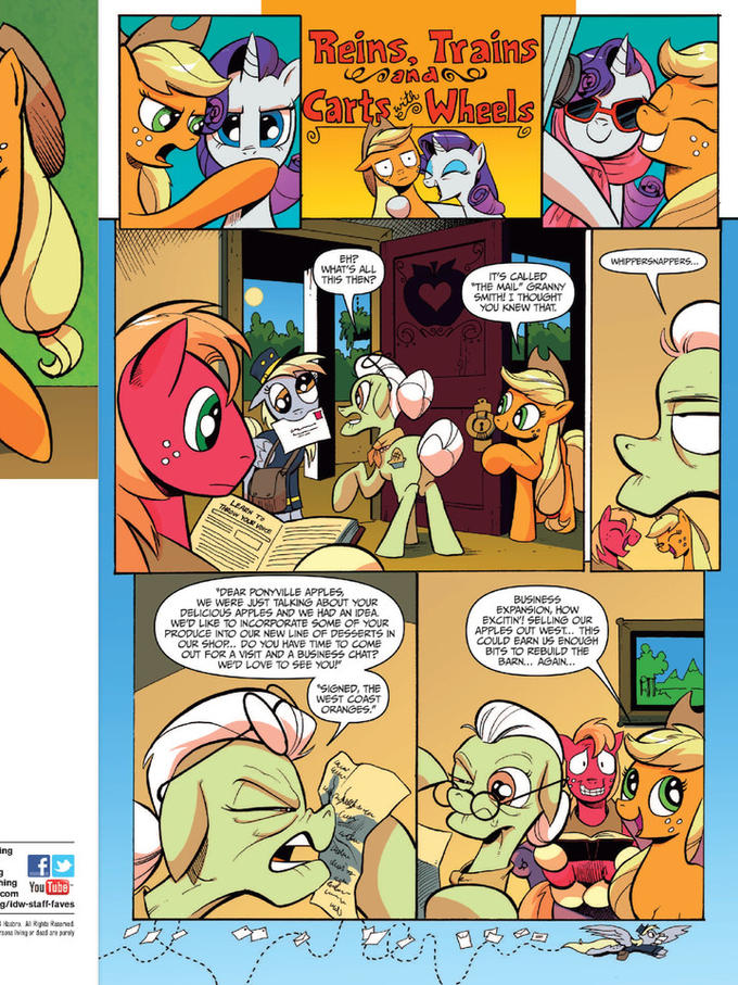 Derpy in My Little Pony: Friends Forever #8 Preview