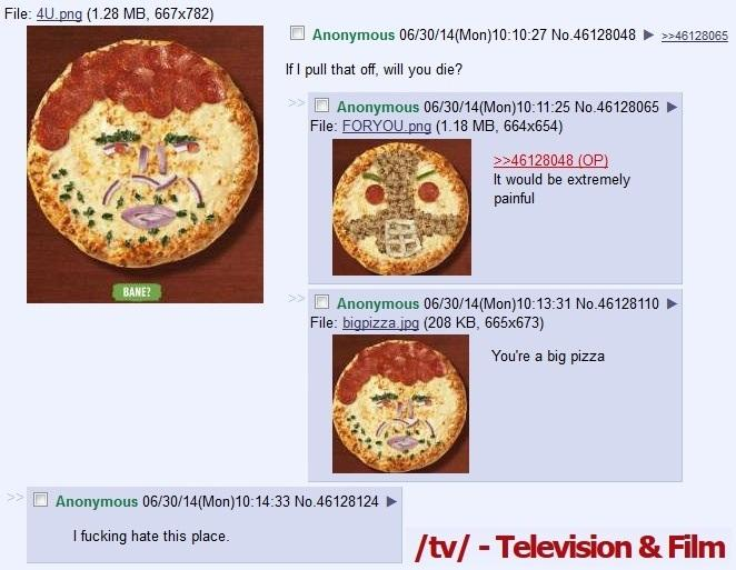 The bane of /tv/'s existance.