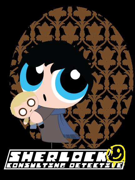 Sherlock Puff: The Consulting Detective w/ John Watson Doll
