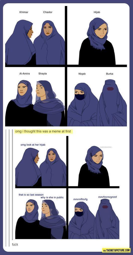 omg look at her hijab