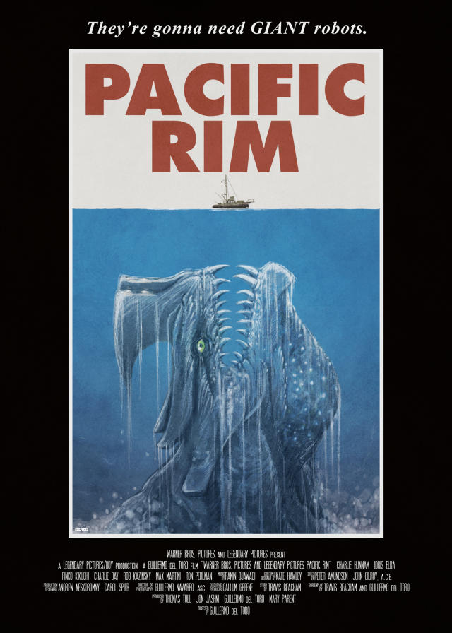 Jaws Poster Parodies | Know Your Meme Pacific Rim 2013 Dvd Cover