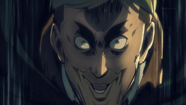 smirk face anime