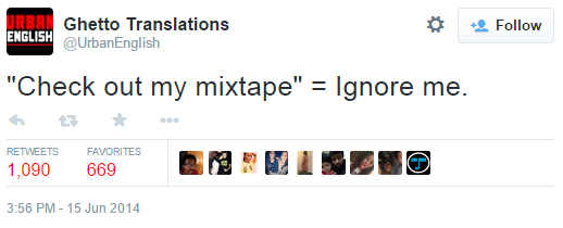 416 check out my mixtape know your meme