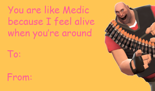 TF2 Valentine Ecard Valentines Day Ecards – E Cards for Valentines Day