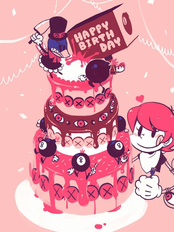 Happy Birthday Kimo Force 44c