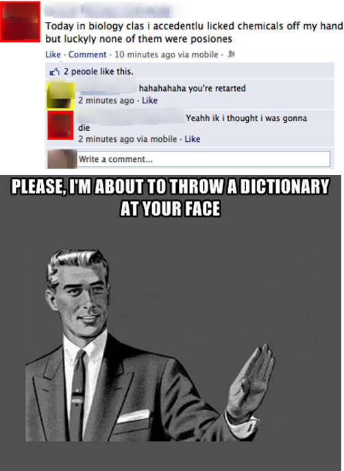 When correcting someone, is it *you're or you're* ?