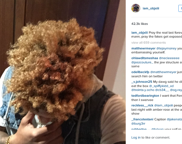 Odell Beckham Jrs Hair Know Your Meme - Odell beckham hairstyle back