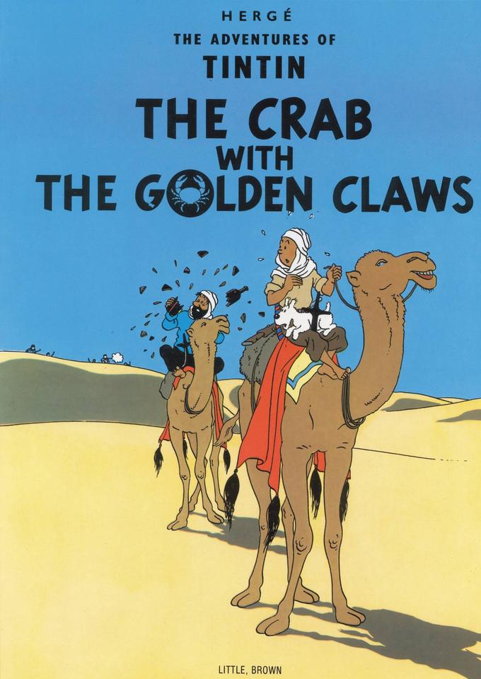The Crab with the Golden Claws cover page