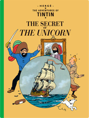 Tintin and the Secret of the Unicorn cover page