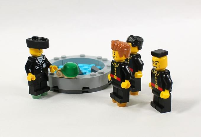 LEGO Jojo Part 4 - Josuke and the Turtle   JoJo's Bizarre ...