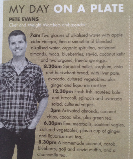 Australian chef Peter Evans talks about activated almonds
