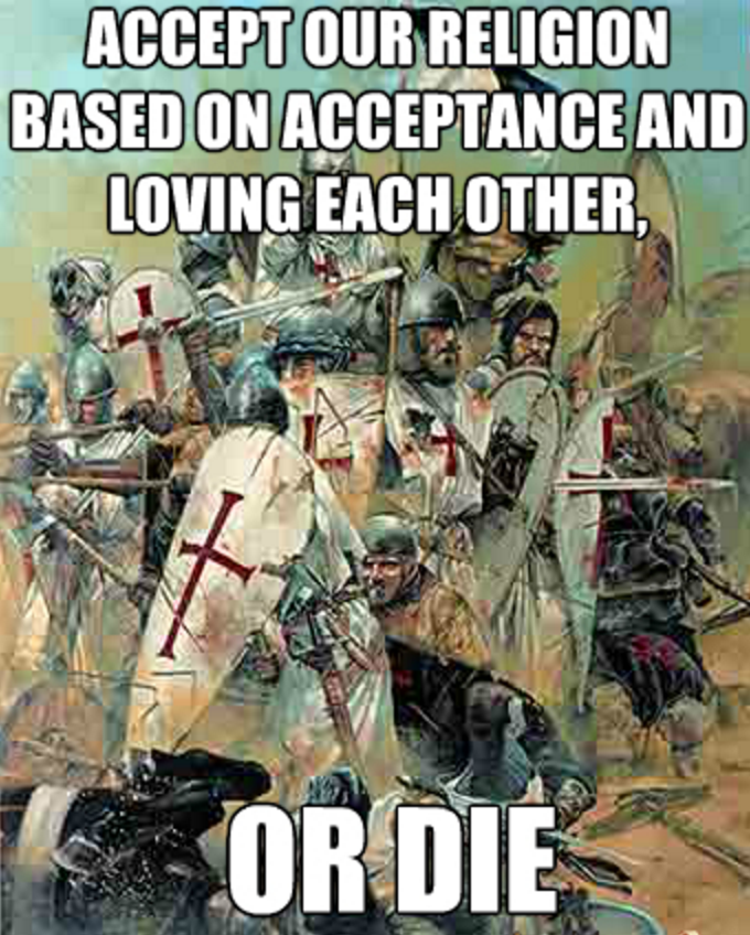 Love Each Other Religious: Accept Our Religion Based On Acceptance And Loving Each