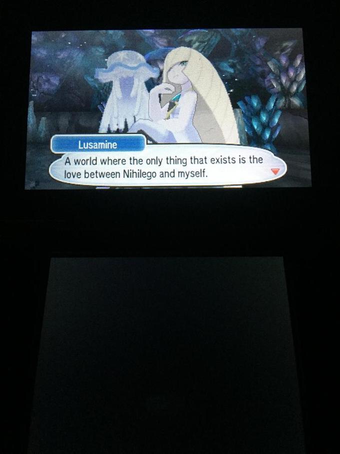 Lusamine and Nihilego | Pokémon Sun and Moon | Know Your Meme