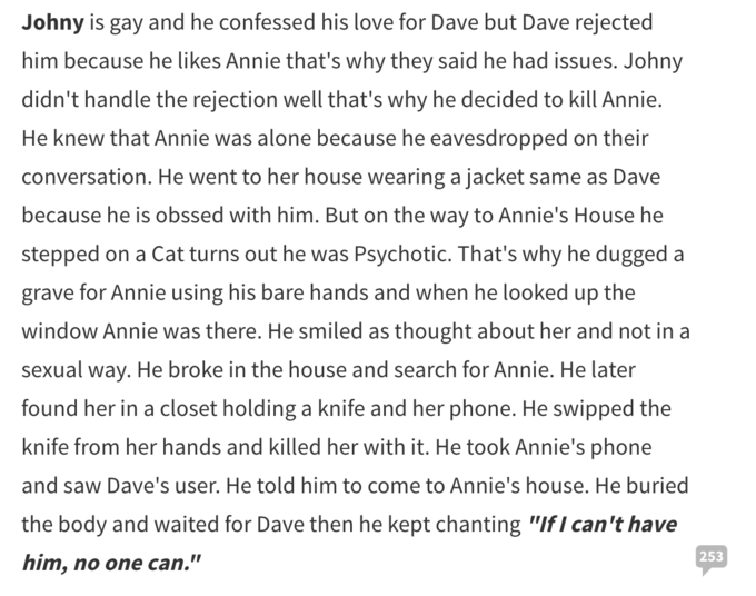 annie96 is typing ending a relationship