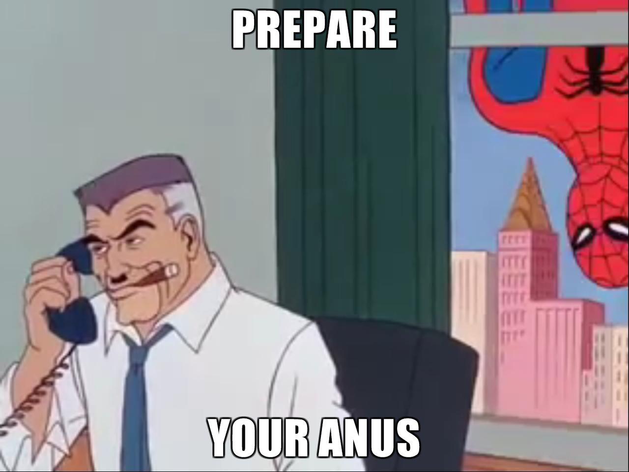 your anus