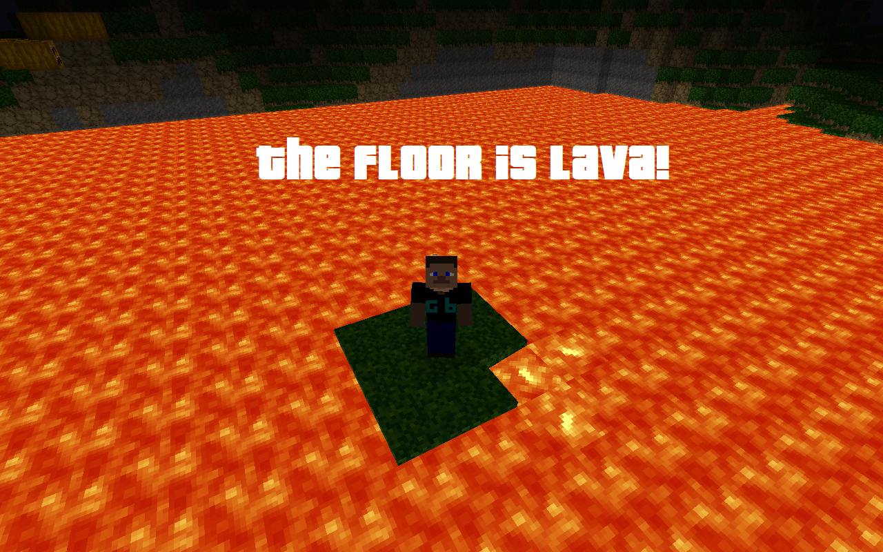 Image 84769 the floor is lava hot lava game know for Lava parquet