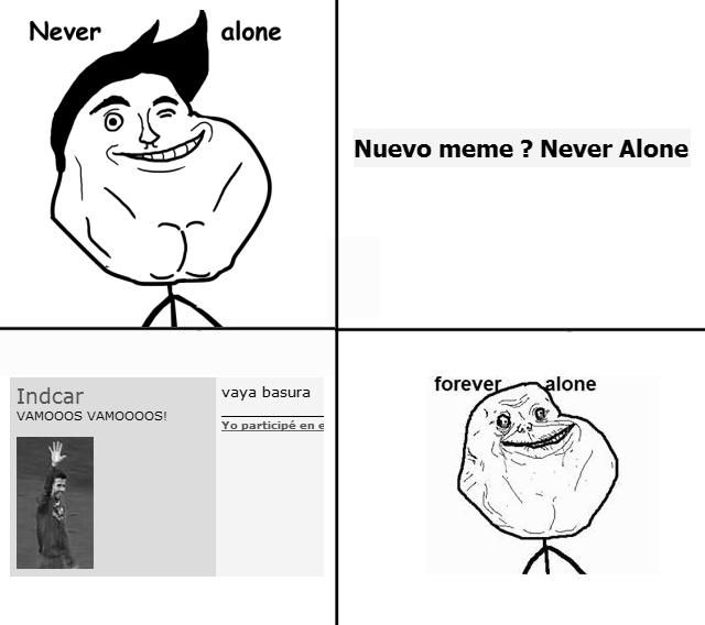 [Image - 91375]   Never Alone   Know Your Meme