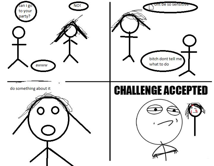 meme faces challenge accepted - photo #10