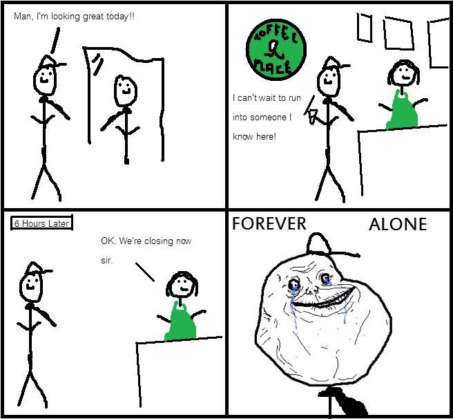 Funnyjunk Know Your Meme : Image forever alone know your meme