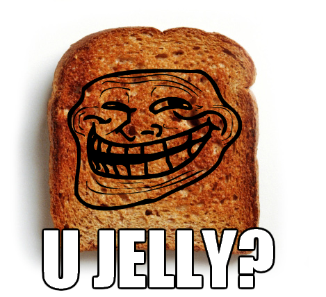 U Jelly Trollface The gallery for...
