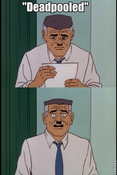 j jonah jameson can not believe what is happening either spideymeme