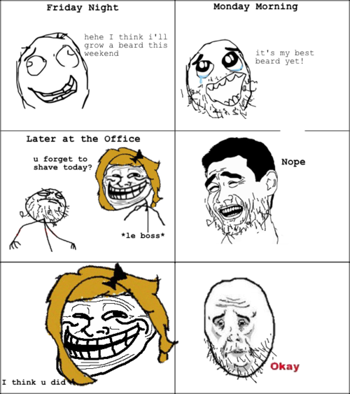 troll face cartoon