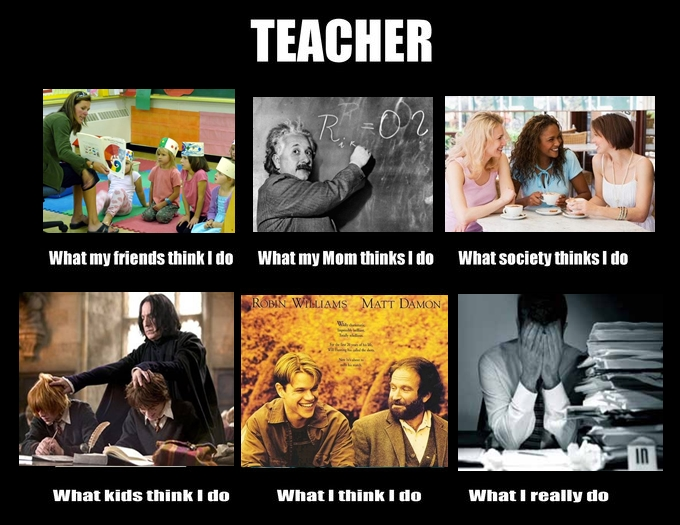 Western Sky Loans >> What people think teachers do, what we actually do - great pics | Educational Technology