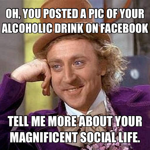 Pot Bad Drinking Good Meme