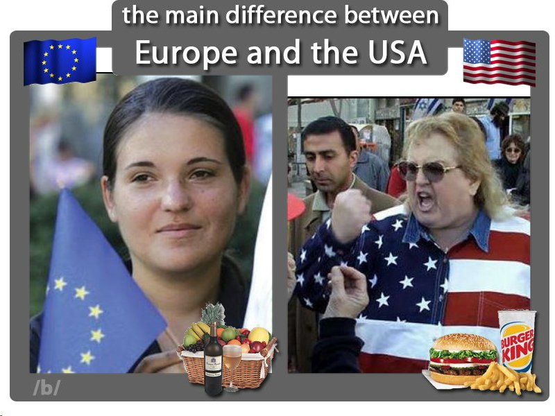 American Vs European Women Meme